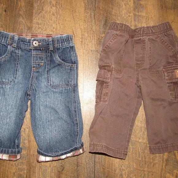 OshKosh B'gosh Other - Oshkosh jeans and pants toddler boy size 9 motnhs